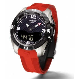Orologio Tissot T-Touch Expert Solar Uomo rosso - T0914204705700
