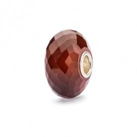 Hessonite Garnet Beads stone Trollbeads - TSTBE-60001
