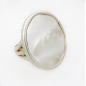 Shelley Mimi mother of peral ring big - AK530C8MP