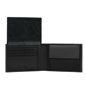 Piquadro portafoglio uomo in pelle Pulse nero - PU1392P15/N