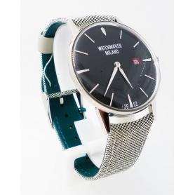 Weinlese-Uhr Watchmker Milano schwarzes Zifferblatt - WM.00A.01