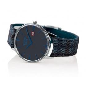 Weinlese-Uhr Watchmaker Milan dunkelgraue Zifferblatt - WM.00A.02