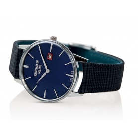 Orologio Vintage Watchmaker Milano quadrante blu - WM.00A.03