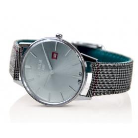 Weinlese-Uhr Watchmaker Milano silbernes Zifferblatt - WM.00A.07