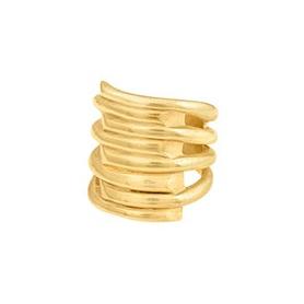 Anello Tornado Uno de50 fascia collezione Gold - ANI0302ORO0000L