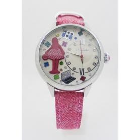Orologio da polso Le Carose Time cinturino rosa