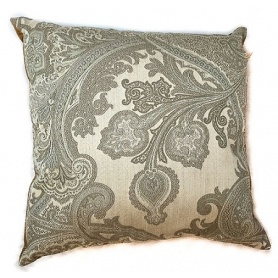 Etro Pillow paisley motif beige colored