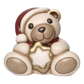 Mixi Teddy with star Thun Christmas 2015 - F2247A82