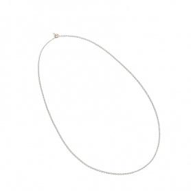 Collana Queriot motivo catena rollò in argento e oro - C12A0370