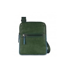 Leather pouch with Piquadro Tau-CA1816W06/VE