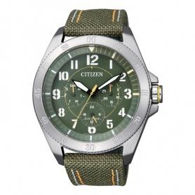 Orologio Citizen Military crono Eco drive Verde - BU2030-09W