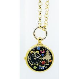 Halskette-Watch die Goldene Zwiebel Cu Carose Zeit