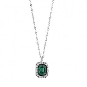Collana Salvini Lorelayne con smeraldi e brillanti