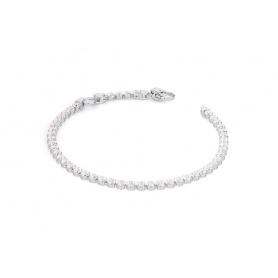 Pinkish white cubic zirconia Tennis bracelet