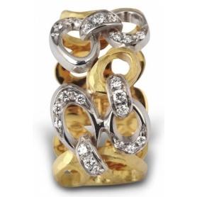 Anello Vendorafa in oro e brillanti - KS4120