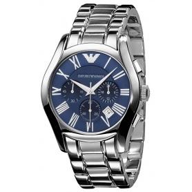 Orologio Emporio Armani uomo crono Blu acciaio PROMO - AR1635