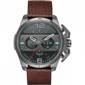 Diesel chronograph DZ4387-brown skin model Ironside