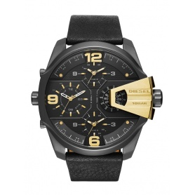 Diesel watch model Uber Chief Golden details-DZ7377