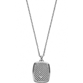 Armani Stahl Anhänger Halskette-EGS2137040