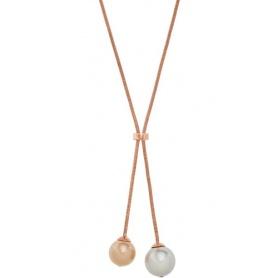 Collana donna Emporio Armani con perle bicolor - EGS2145221