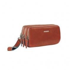Piquadro Orange Leather case-AC2141B2/AR