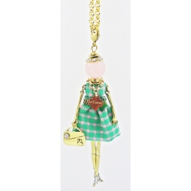 The Carose doll necklace pendant spring chess