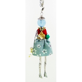 The Carose necklace with pendant and doll dress spring
