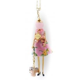 Collana Le Carose My Pet bambola pendente con cagnolino Chiwawa