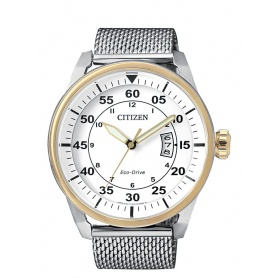 Citizen Eco-Drive watch-AW1364-54A line OF Aviator