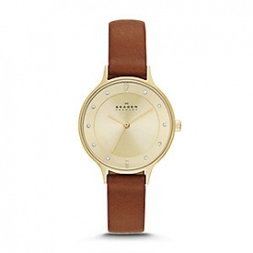 Skagen women's watch-Golden SKW2147 Anita
