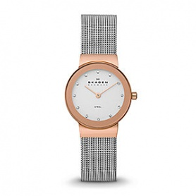 Skagen women's watch stainless 358SRSC Rosé Freja