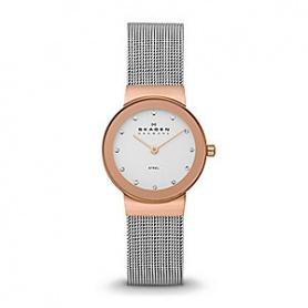 Skagen women's watch stainless 358SRSC Rosé Freja