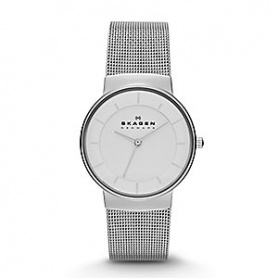 Skagen women's watch Nicoline white and silver-SKW2075