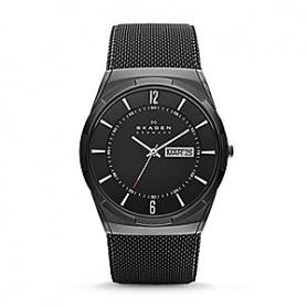 Men's Skagen black burnished Melbye-SKW6006