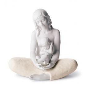 Porzellan-Skulptur in Lladrò Mutter - 01008404