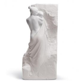 Skulptur in Porzellan Lladrò Mutterschaft Mural