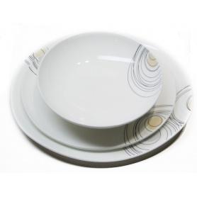 Porcelain service Domino Universe