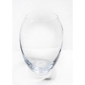 Vaso in vetro tondo