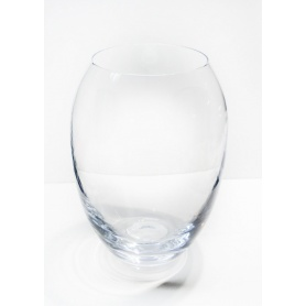 Runde Glas-vase