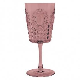 Bicchiere Vino Baroque & Rock Rosa Antico Baci Milano PZ6