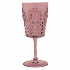 Baroque Wine Glass Antique Rock Rose Kisses Milan PZ6 &