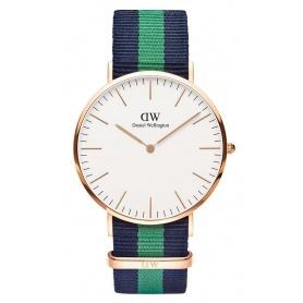 Orologio Daniel Wellington uomo Classic Warwick vintage verde