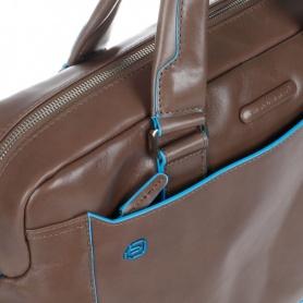 Piquadro cartella due manici in pelle tortora - CA3335B2/TO