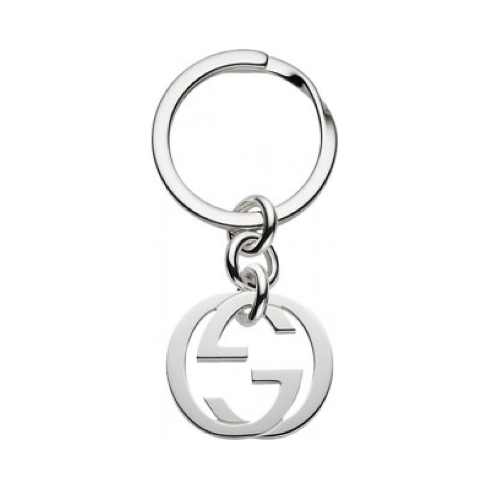 Gucci Double G keychain - Black