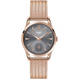 Orologio vintage donna Henry London Finchley rosè