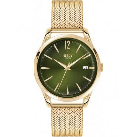 Orologio vintage Henry London Chiswick dorato