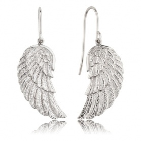 Earrings Engelsrufer silver Wing-ERE-WING
