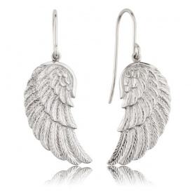 Ohrringe Silber Engelrufer Flügel-ERE-Flügel