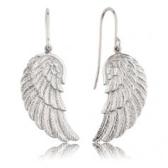 Earrings Engelsrufer silver Wing-ERE-WING