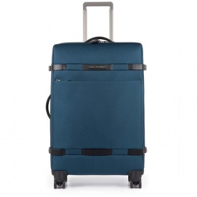 Medium upright Piquadro Move2 BV3874M2/Blue Blue